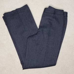 Lafayette 148 New York Navy Wide Leg Pants EUC